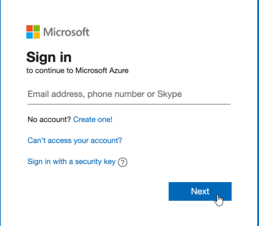 Azure AD logon prompt